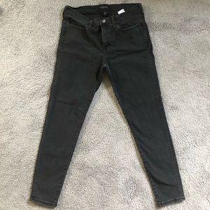 NWOT Banana Republic faded black jeans.